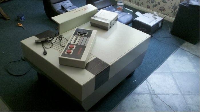 Behold The Nintendo Entertainment System Coffee Table