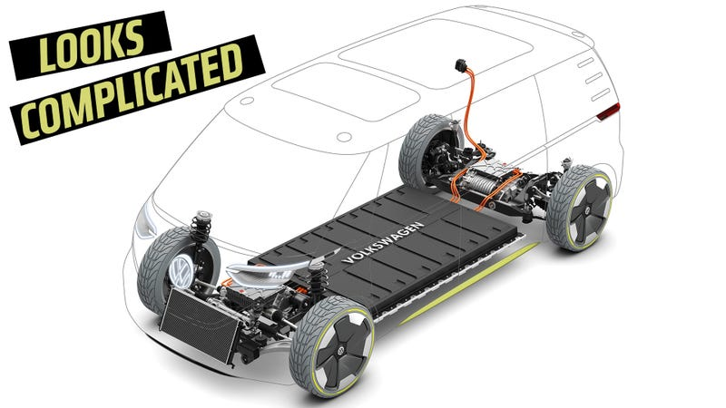 The VW ID Buzz concept. Illustration: VW