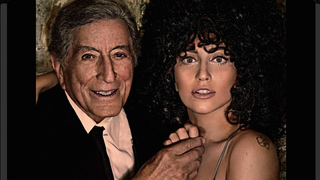 Illustration for article titled Lady Gaga and Tony Bennett Make Beautiful Art Together