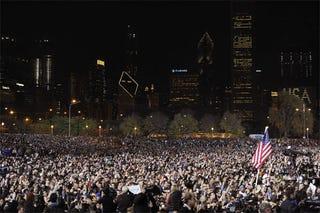 Illustration for article titled Obama Wins!!