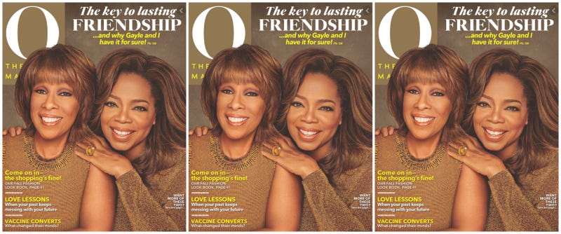 Illustration for article titled Get You a Gayle: For the 1st Time in the History of O Magazine, Gayle Joins Oprah on the Cover