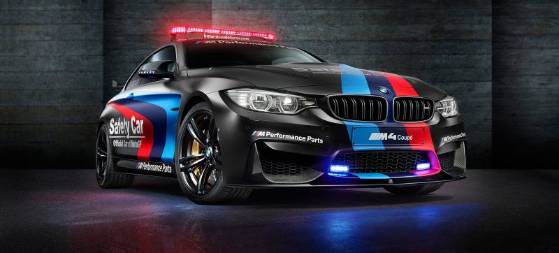 Illustration for article titled BMW May Have Just Made The Most Sinister-Looking Safety Car Ever