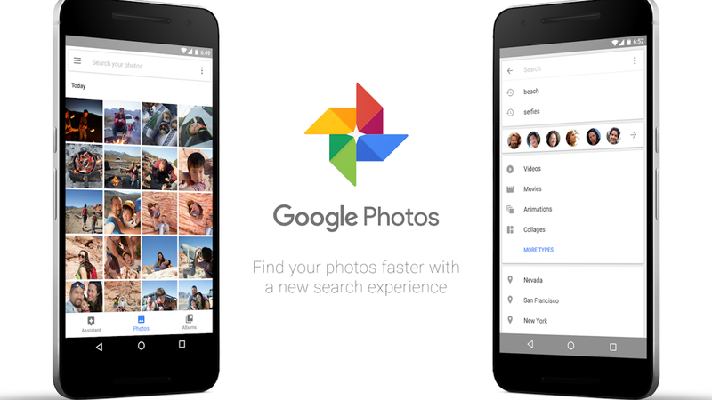 Illustration for article titled Google Photos Adds Easier Search, Movie Editing Options, and More