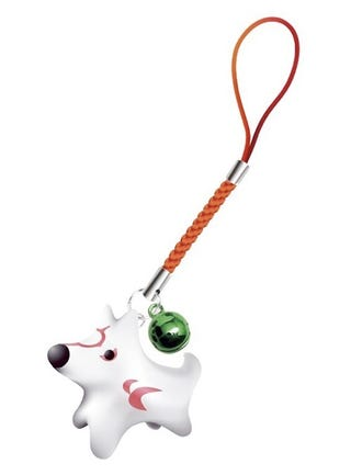 Illustration for article titled Okami As A Cell Phone Strap