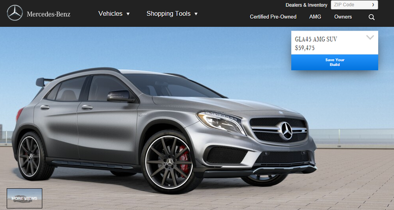 Illustration for article titled How Would You Configure Your Mercedes GLA45 AMG?
