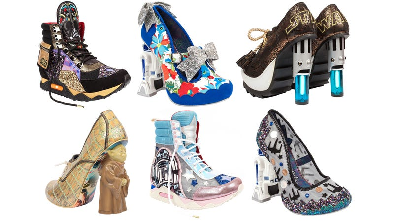 Illustration for article titled These NightmarishStar Wars Shoes Sadly Exist in Our Galaxy, Not One Far, Far Away