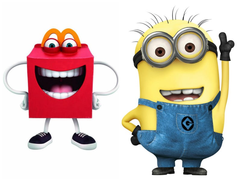 Is The New Mcdonalds Mascot Really Just A Despicable Me Minion