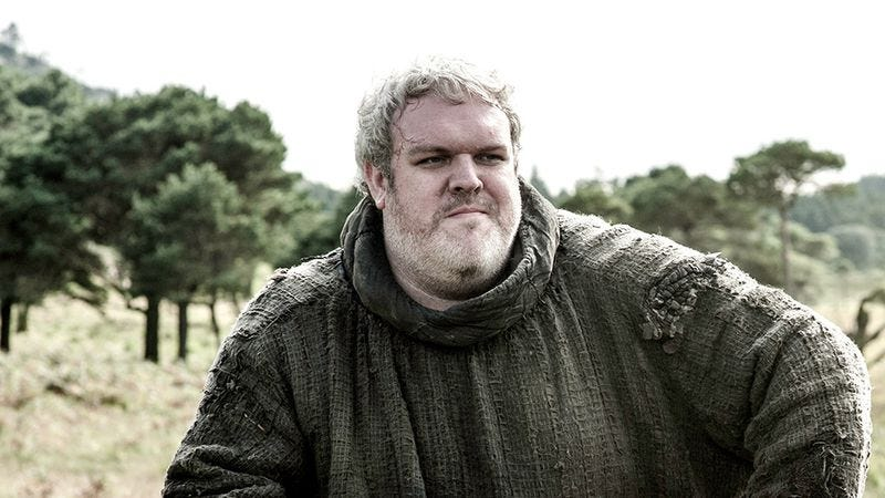 Illustration for article titled Game Of Thrones' Hodor comes out as Hodor