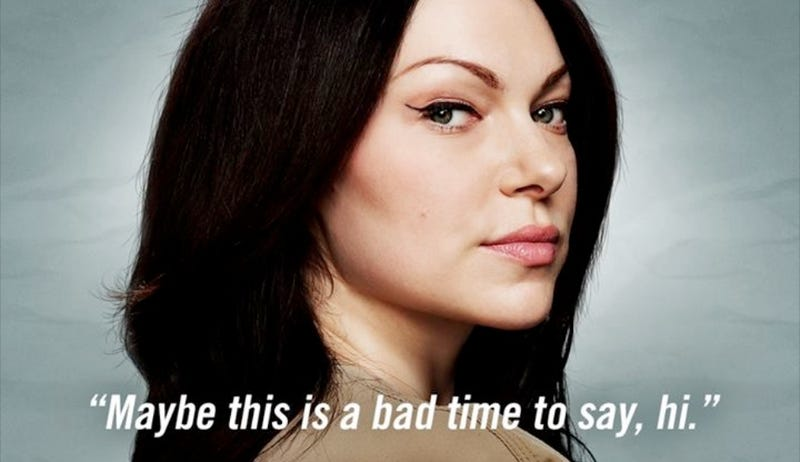 Illustration for article titled Laura Prepon Is No More For Orange is the New Black