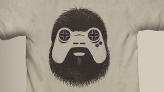 """Illustration for article titled """"The Gamer"""" T-Shirt is Beautiful, Will Also Haunt My Nightmares"""