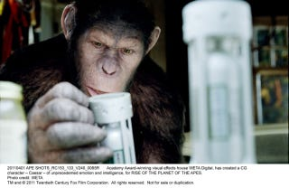Illustration for article titled Rise of the Planet of the Apes Pictures