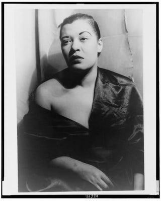 Billie Holiday in 1949Carl Van Vechten/Library of Congress, Prints and Photographs Division, Van Vechten Collection