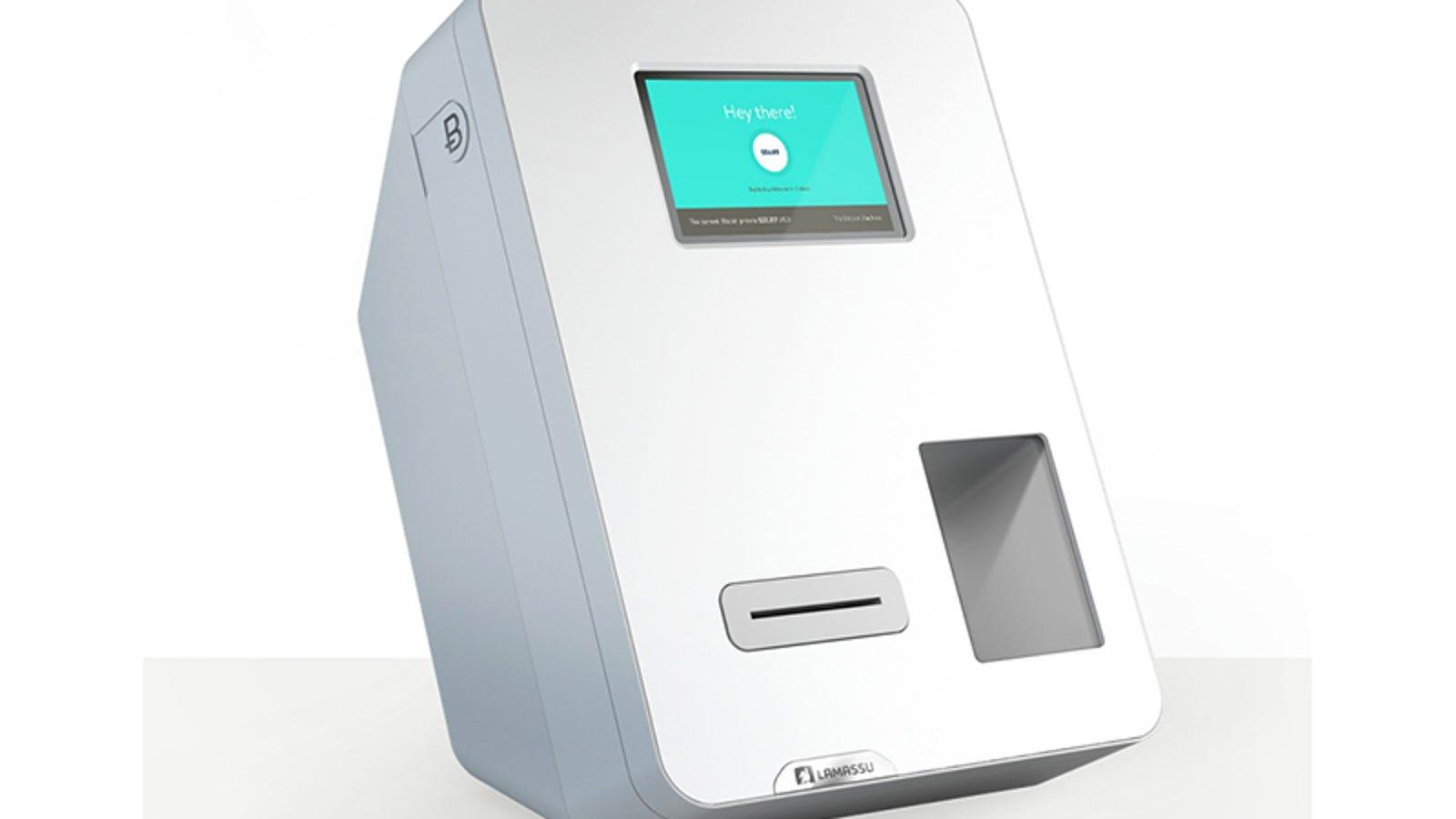 Instalan la primera máquina que cambia dólares en bitcoin