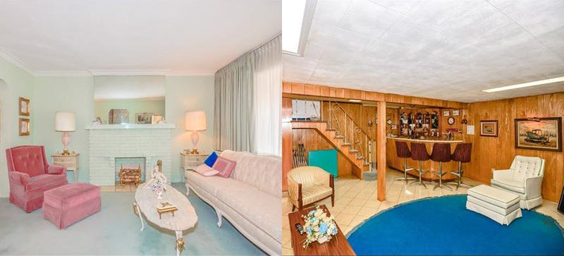 This House Hasn't Been Redecorated Since The 60s And It's For Sale