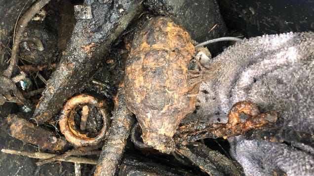 Man in Florida Discovers  WWII Hand Grenade,  Drives It to Local Taco Bell