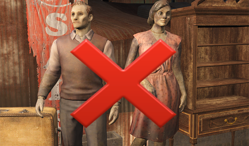 Illustration for article titled Mod Turns Fallout 4's Creepy Mannequins Into Flamingos