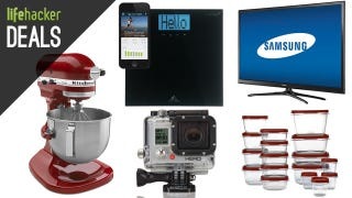 Illustration for article titled The KitchenAid of Your Dreams, Semi-Smart Scale, $150 GoPro [Deals]