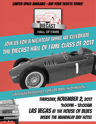 Illustration for article titled Live and Let Diecast is now partnered with the Diecast Hall of Fame!