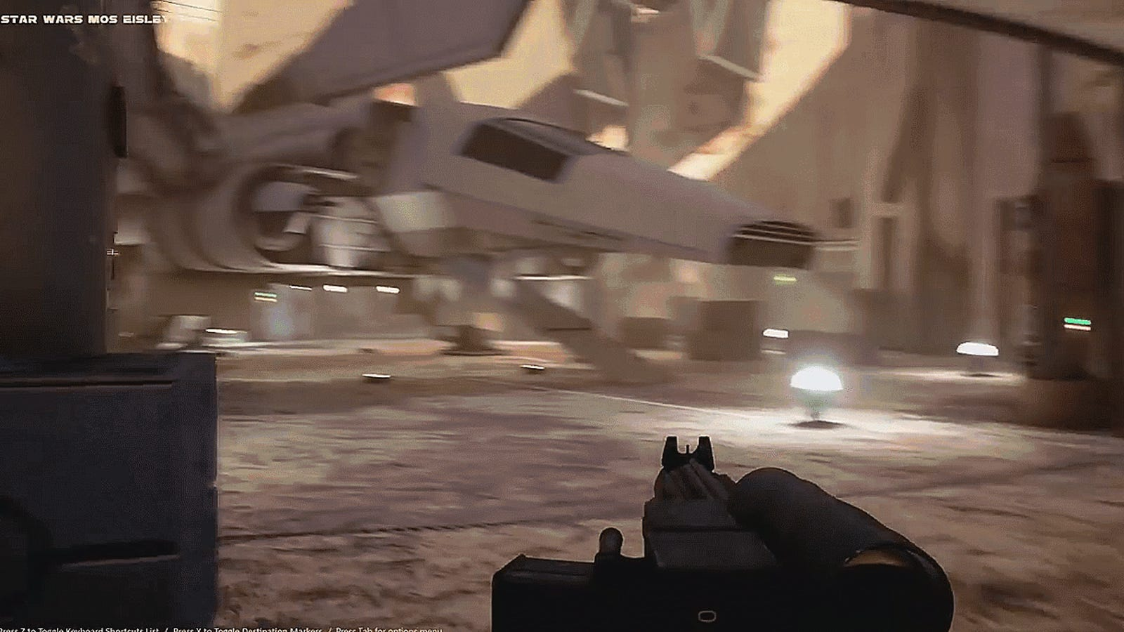 Fan Is Remaking The First Level Of Star Wars: Dark Forces In Unreal