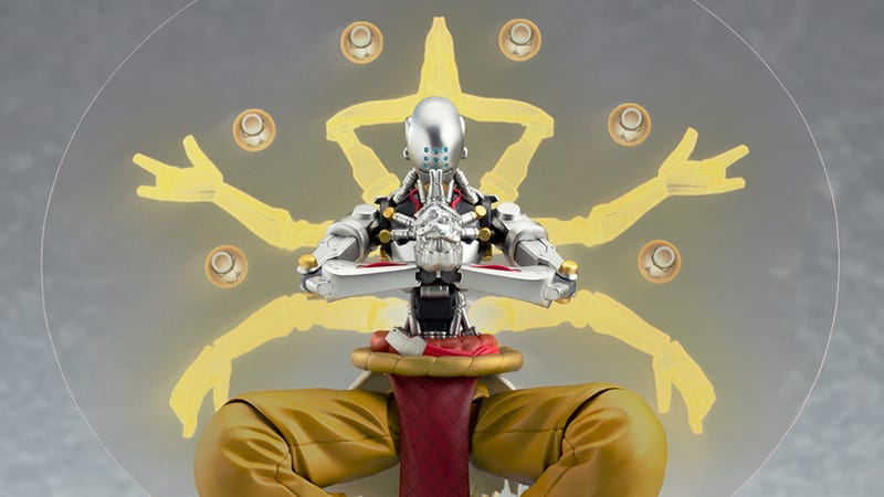 Illustration for article titled Zenyatta Overwatch Figure Comes With All The Glowing Orbs