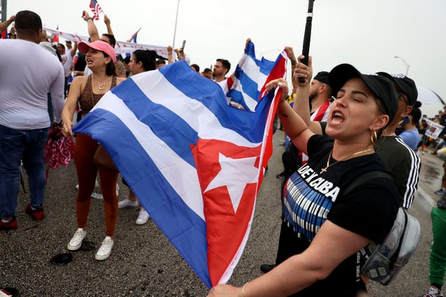 Cuba's Government Has Blocked Access to Facebook and Telegram Amid Protests
