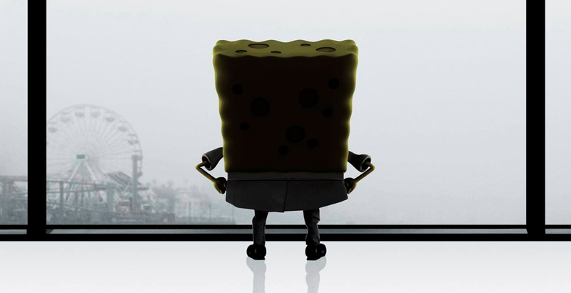 Illustration for article titled SpongeBob Spoofs 50 Shades Of Grey