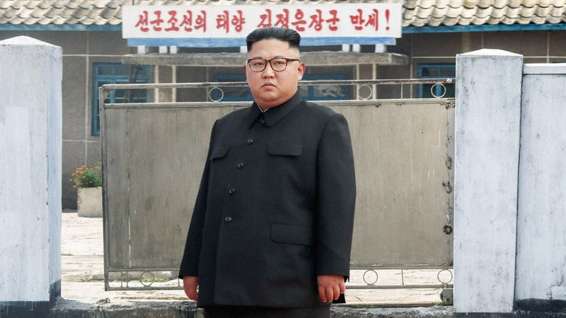 Illustration for article titled Kim Jong-Un Panics After Returning To North Korea To Find Country's Populace Has Escaped