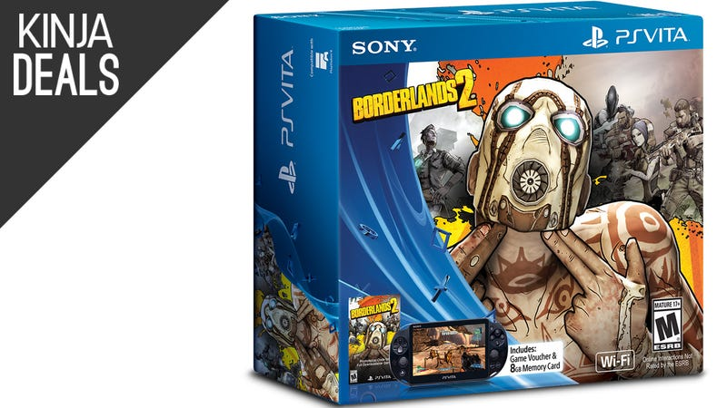 Illustration for article titled Now the Vita Borderlands Bundle is Down to $170 Too
