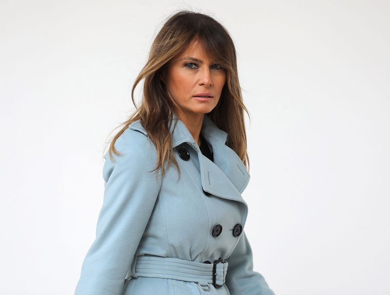 Illustration for article titled Melania's Heart Sinks After Realizing Husband Uses Pet Name 'Horseface' For Every Woman He Fucks