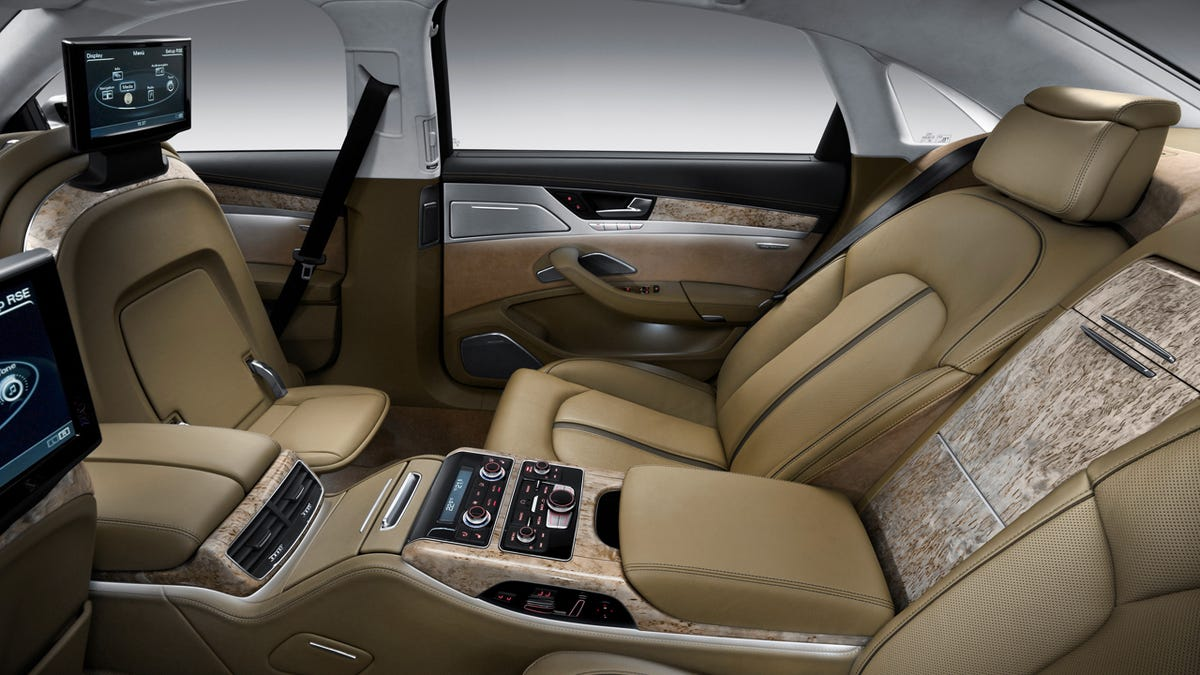 The Ten Most Ridiculous Luxury Car Features - Audi luxury car