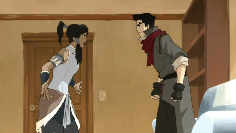 """Illustration for article titled The Legend Of Korra: """"Peacekeepers"""""""