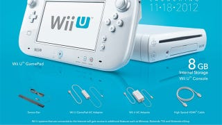 Illustration for article titled Here's What's Inside Each Wii U Console Box