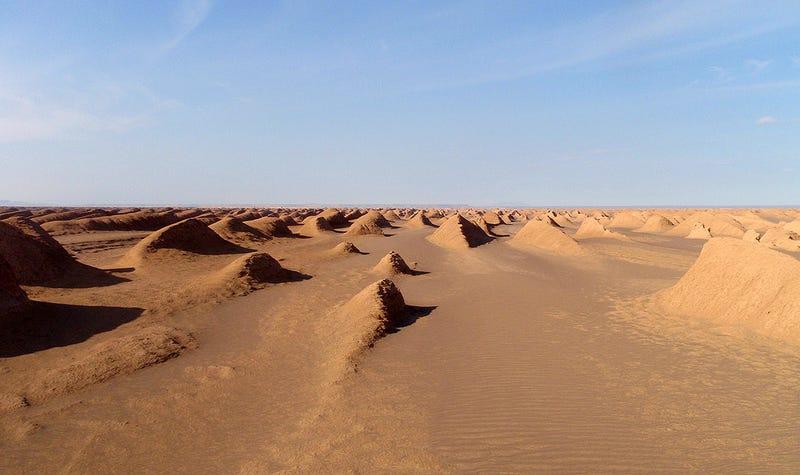 Illustration for article titled Este abrasador desierto es el lugar más caliente de la Tierra