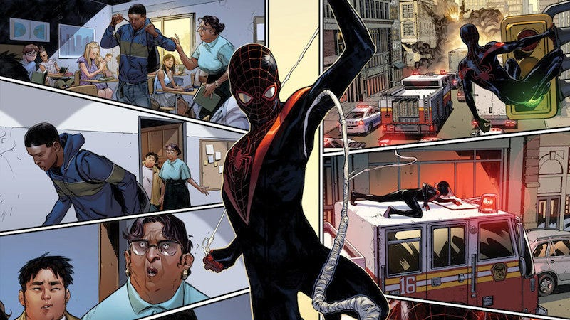 6b74dc39b7c9d3 Kevin Feige Confirms That Miles Morales Exists Somewhere in the ...