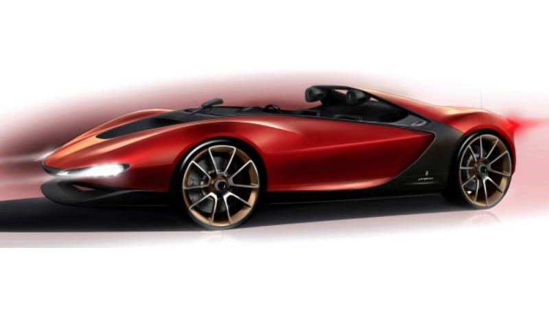 Illustration for article titled The Pininfarina Sergio Concept Will Look Gorgeous At Geneva