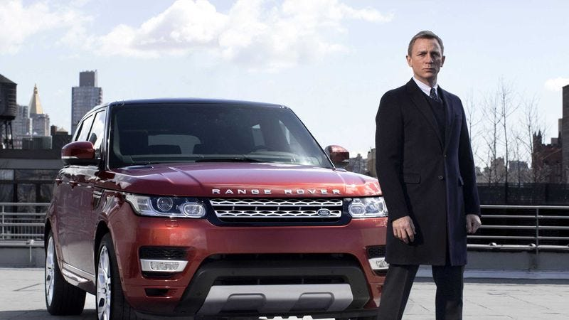 Illustration for article titled Five cars designed for the new Bond movie have been stolen