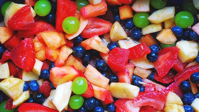Illustration for article titled Mix the Perfect Fruit Salad With the Mad-Libs Method