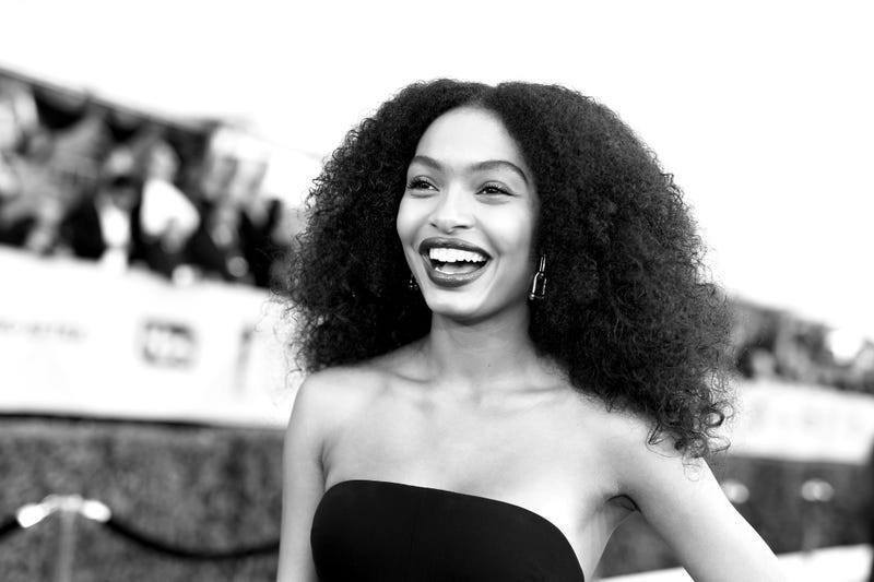 Yara Shahidi attends the 24th Annual Screen Actors Guild Awards at the Shrine Auditorium on Jan. 21, 2018, in Los Angeles.