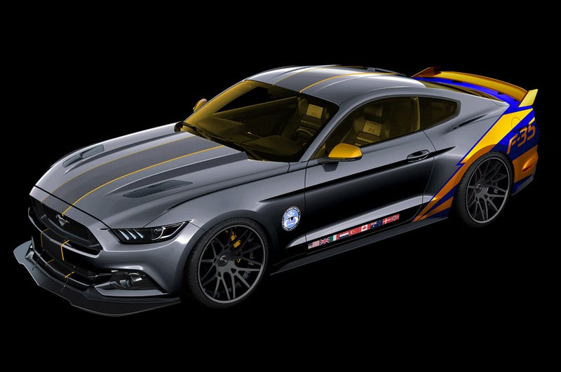 Illustration for article titled This 2015 Mustang Salutes One Of America's Stupidest Defense Failures