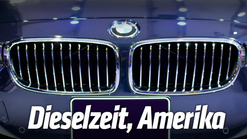 Illustration for article titled BMW Will Bring Its Four-Cylinder Diesel To The U.S.