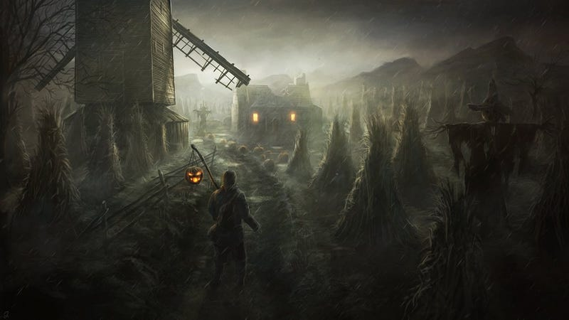 Illustration for article titled The Graveyard Shift - What Makes Your October?