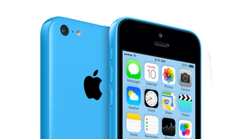 Illustration for article titled iPhone 5C: Apple's Colorful Budget Phone Is Real and $100 on Contract