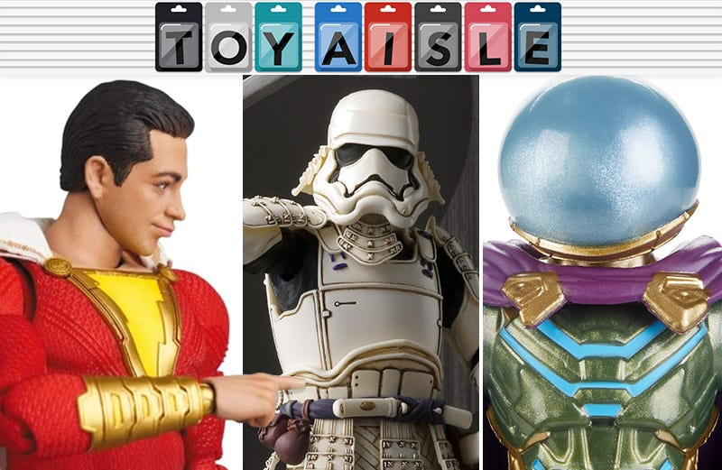 Illustration for article titled The Many Incredible Faces of Shazam, and More of the Most Marvelous Toys of the Week