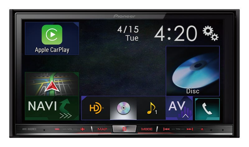 Illustration for article titled Apple CarPlay Comes to Pioneer's Aftermarket Infotainment Systems