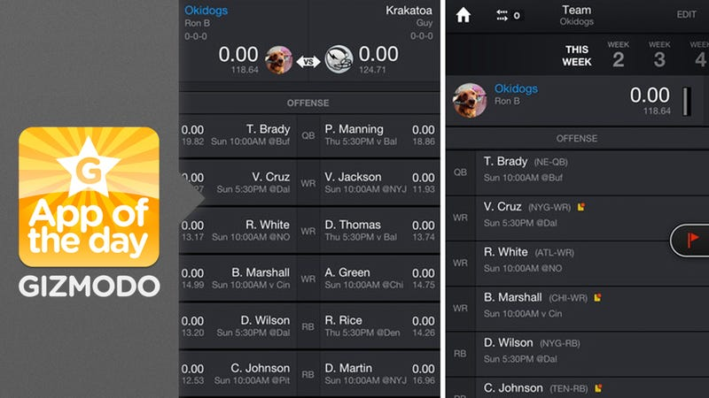 Illustration for article titled Yahoo Fantasy Sports for iOS & Android: We Finally Have Mobile Drafting