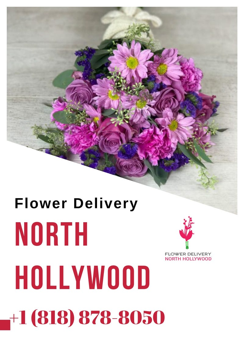 Illustration for article titled Flower Delivery North Hollywood | All Occasional Flower Bouquets