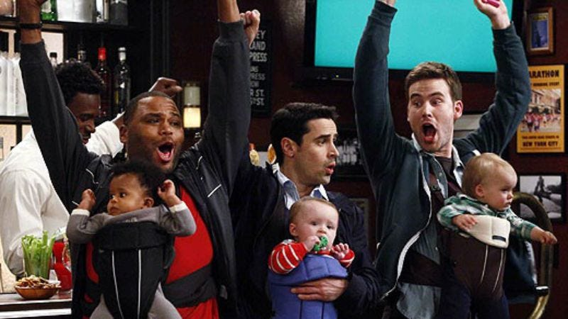 Illustration for article titled NBC orders full season ofGuys With Kids, points toward a future of mostly shows like Guys With Kids