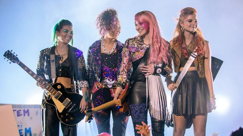Illustration for article titled Jem And The Holograms gets a bizarre, cut-rate adaptation