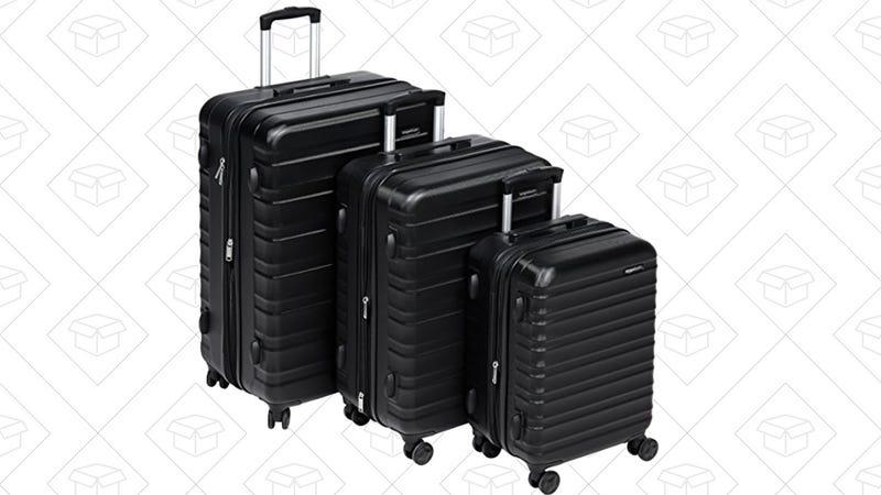 AmazonBasics Hardside Spinner 3-Piece Set | $170 | Amazon
