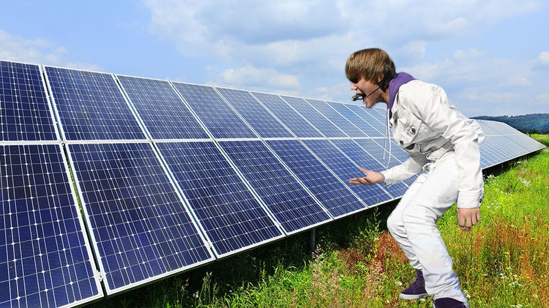 Illustration for article titled Pop Music Makes Experimental Solar Panels Work 50% Harder